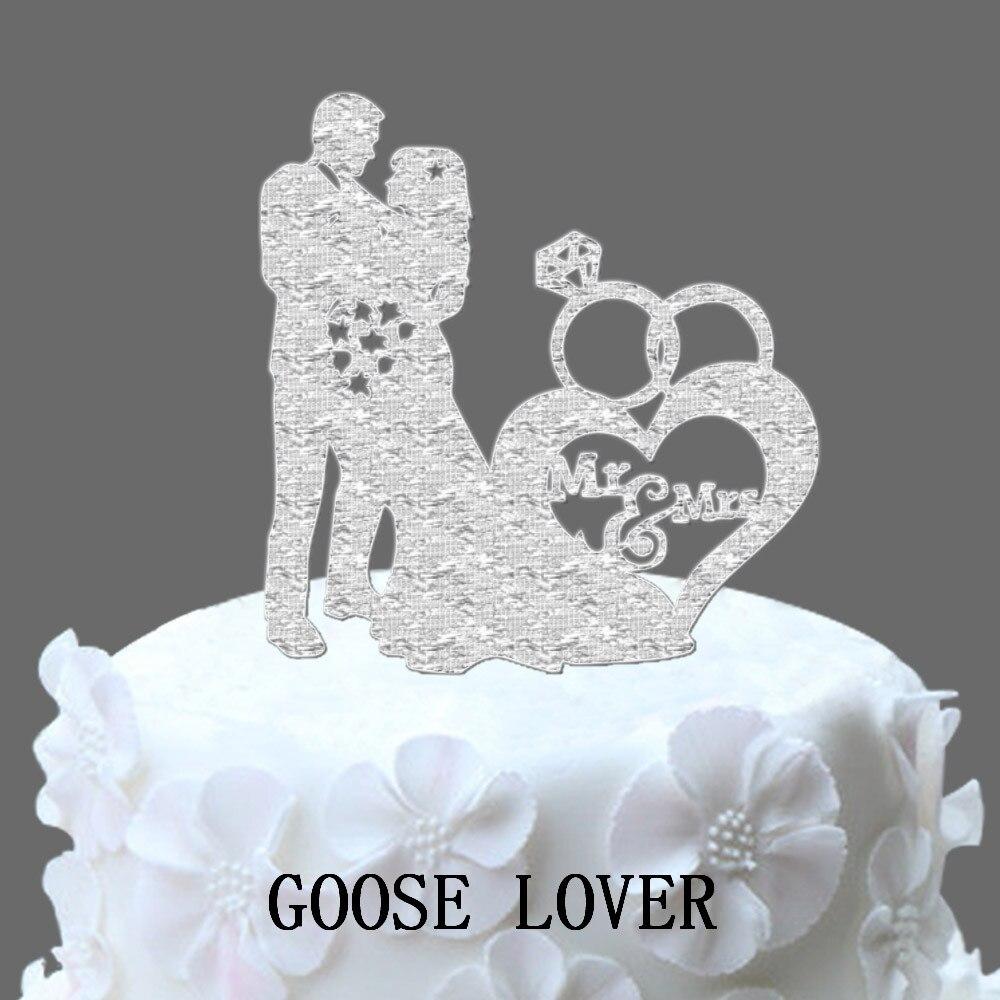 Online Get Cheap Wedding Ring Cake Topper Aliexpresscom