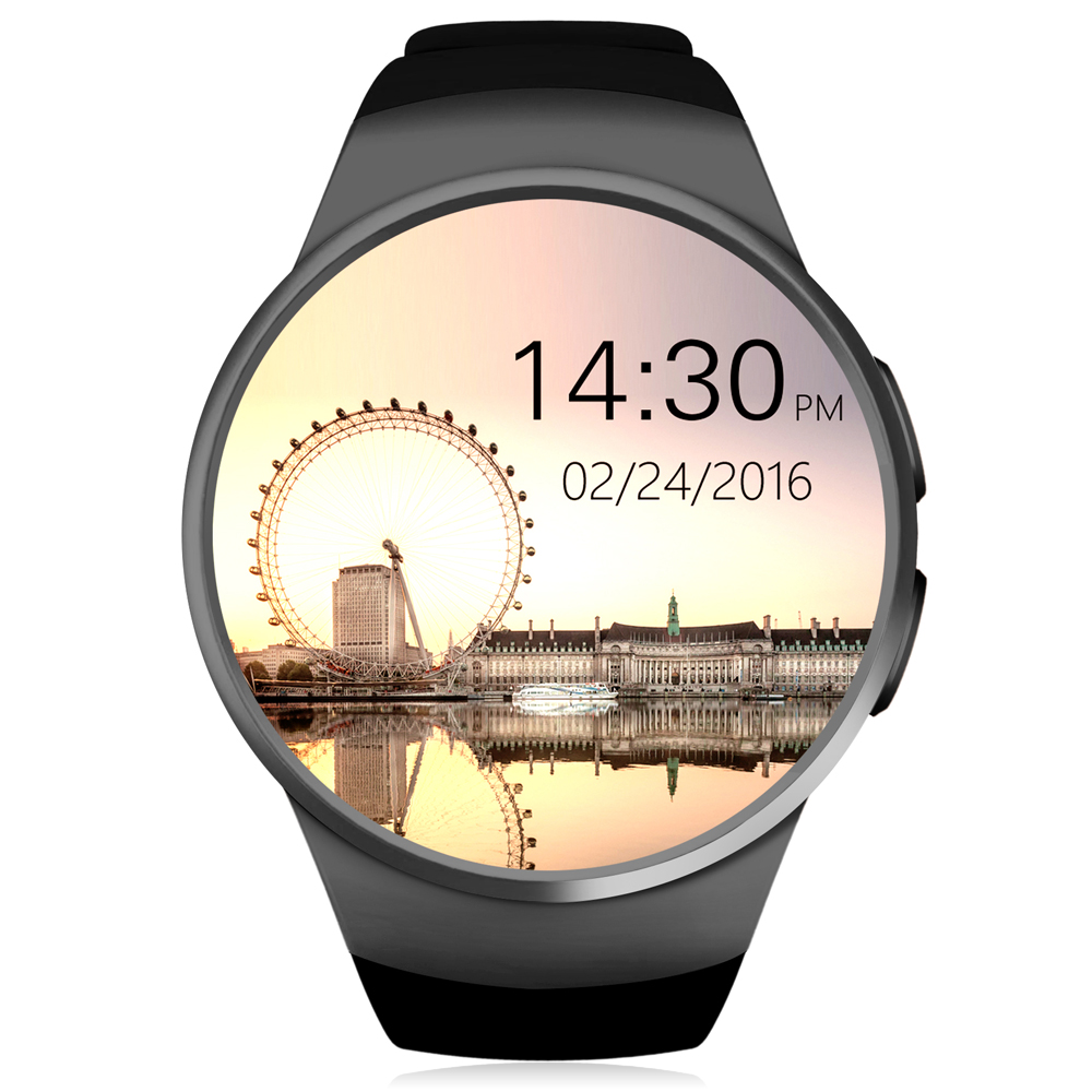 KingWear KW18 Bluetooth Smart Watch MTK2502 Pedometer Support SIM TF Card Smartwatch Heart Rate for Apple IOS huawei Android цена