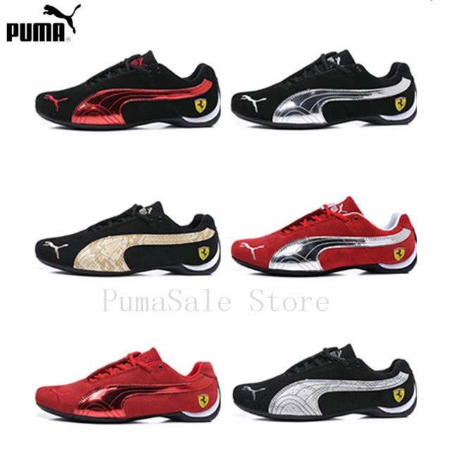 9a824ed9 2019 Original PUMA Future Cat Leather SF Men's Shoes Ferrarimotorcycle  Badminton Shoes Men Fur Racing Sneakers Size EUR39-44