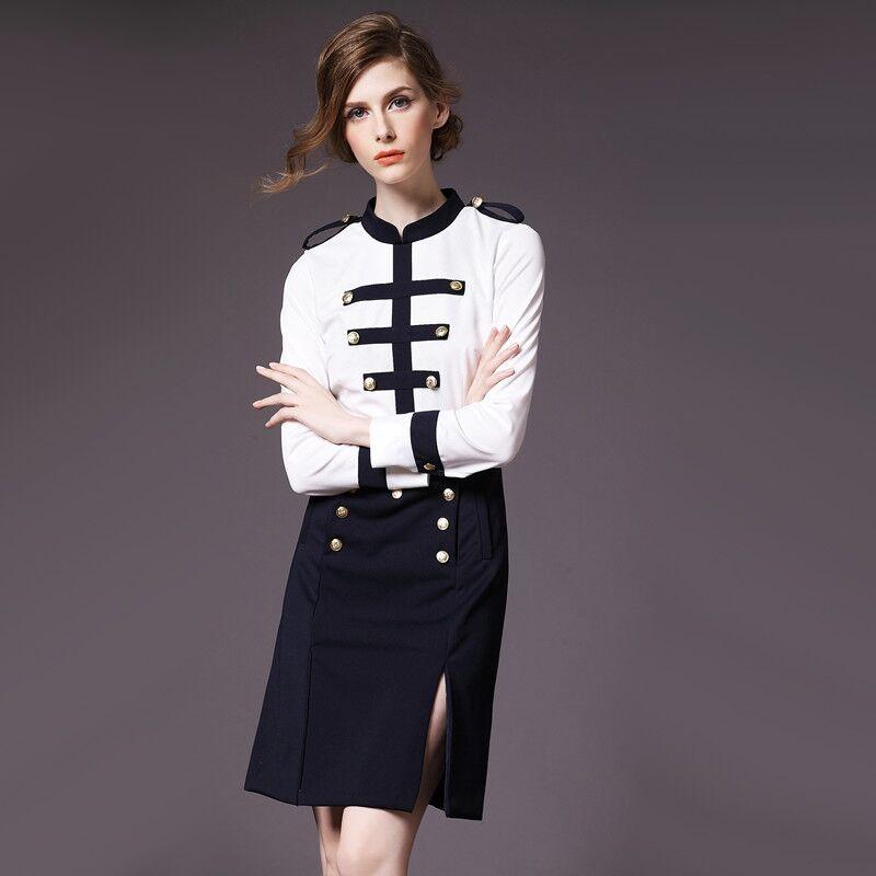 On Trend And Elegant Looks For: Knee Length Dress 2016 Autumn Elegant Fashion Vintage