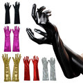 Sexy Women Golves Long Patent Leather Adult Fetish Gloves Latex Costum Sexy Toys Erotic Gloves Accessories    LB