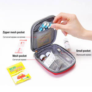 Image 2 - Mini First Aid Kit Travel Camping Medical Bandage Bag Family Sports Car First Aid Bag Tactical Military Emergency Survival Kit