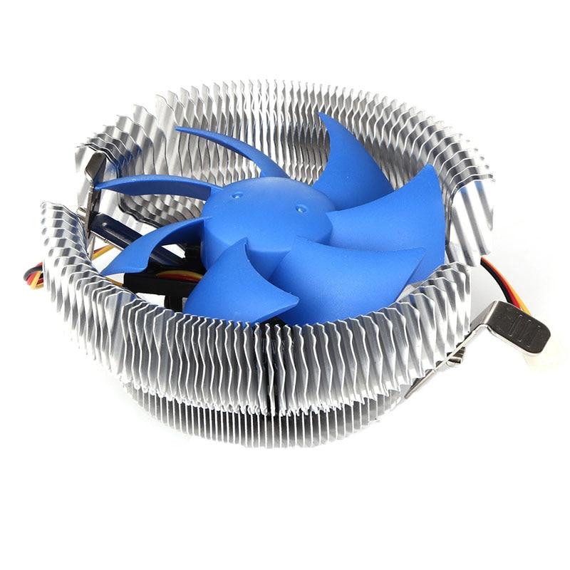 3Pin CPU Cooler Fan Radiator 12V DC Heatsink Air Cooling Thermal Silicone For Intel LGA775/1156/1155 AMD754 AM2/AM2+/AM3