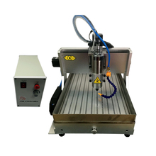 Mini CNC milling machine 3040Z 1500w 4axis wood router metal Engraving with water tank and cutter collet vise clamp 1500w spindle 4axis cnc router 3040z with usb port and ball screw cnc machine