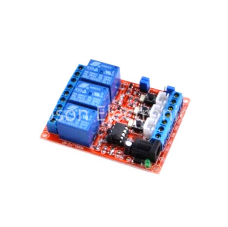3-Channel Relay Module 24V H/L Level Triger Self-Lock/Interlock fc 16 b 1 channel 24v relay module blue