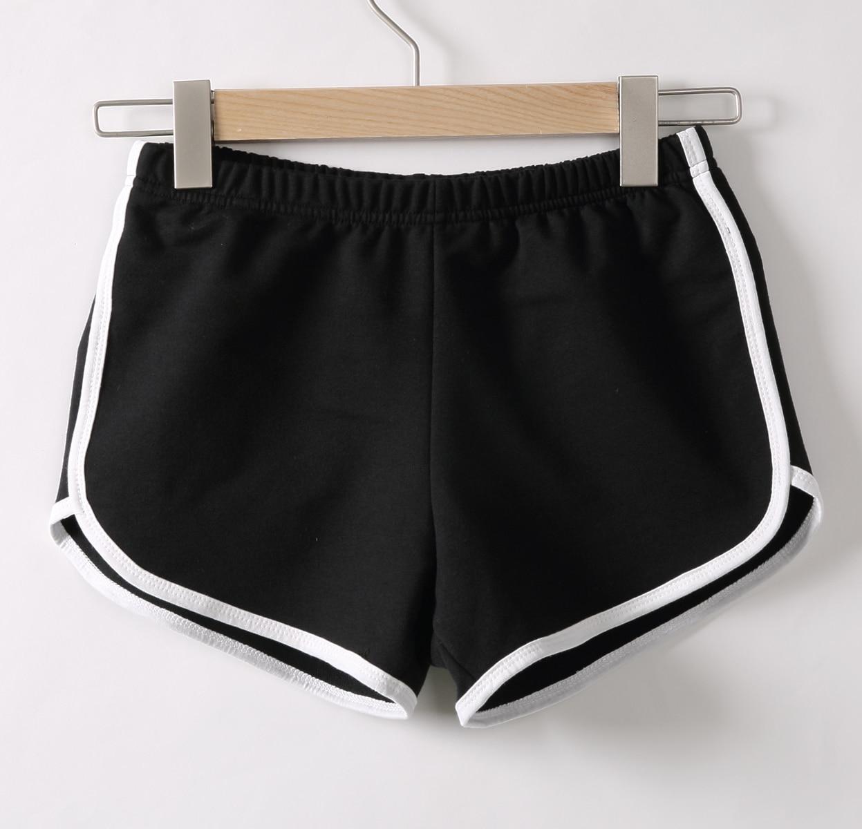 נשים מכנסיים קצרים קיץ נשים של ספורט כושר אימון חגורת סקיני קצר כושר ריצה כושר