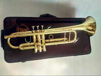 Gilding trumpet LT180S 72 B flat Professional trumpet bell Top Brass Musical Instruments and High grade packing boxs case Free
