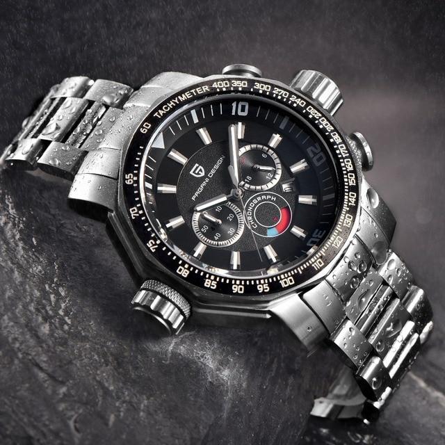 78c969d5b84 Relogio masculino 2018 Big Dial Esporte de Mergulho Relógio de Quartzo  Militar Relógios Homens Marca de