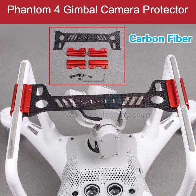 Gimbal Camera Protector Guard Bracket 3K Carbon Fiber Board Landing Gear for DJI Phantom 4 Drone
