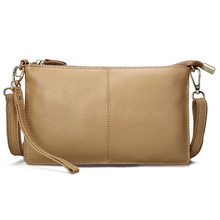 Leather Women Dress Clutch Shoulder Bag