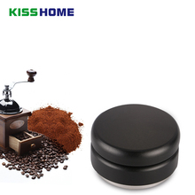 Matte Professional Espresso Wbc Stainless Steel Coffee Tamper Three Angled Slope Aluminum Alloy 58mm Adjustable Macaron Tampers