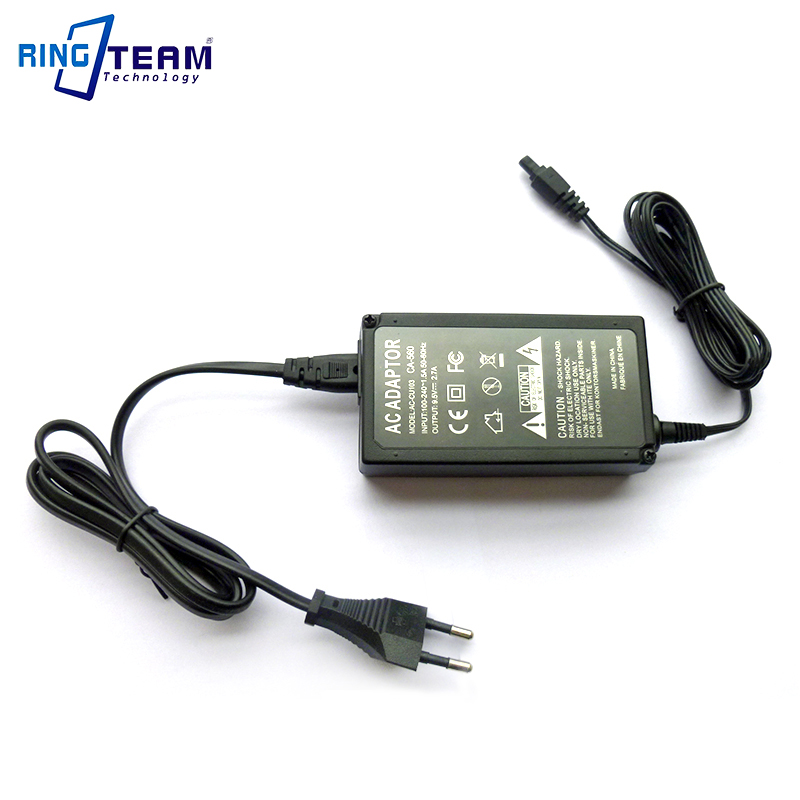 Camera AC Power Adapter CA560 CA-560 For Canon Digital PowerShot MV300 MV300i MV400 MV400i MV410 MV425 MV430 MV430i MV450 MV450i