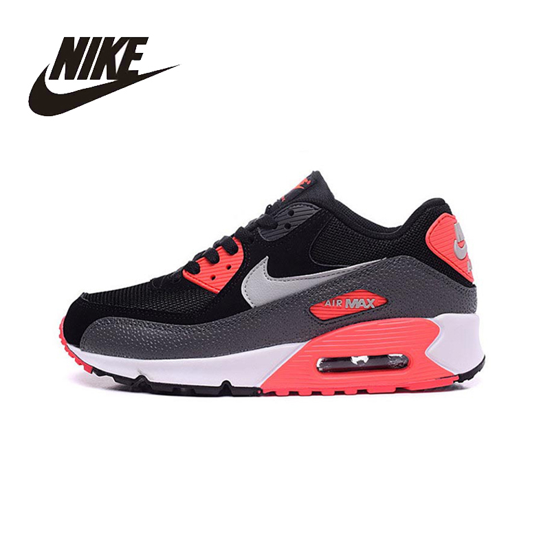NIKE Unisex AIR MAX 90 ESSENTIAL Running Shoes Breathable Stability Support Sports Sneakers For Men And Women Shoes original nike sneakers breathable air max motion lw women s running shoes beginner summer air mesh sports sneakers women shoes