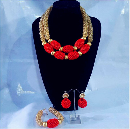 Latest Design Fashion 2017 New Coral and Gold Wedding Jewelry Sets for Brides Indian Bridal Jewelry Sets Free Shipping ABH449Latest Design Fashion 2017 New Coral and Gold Wedding Jewelry Sets for Brides Indian Bridal Jewelry Sets Free Shipping ABH449
