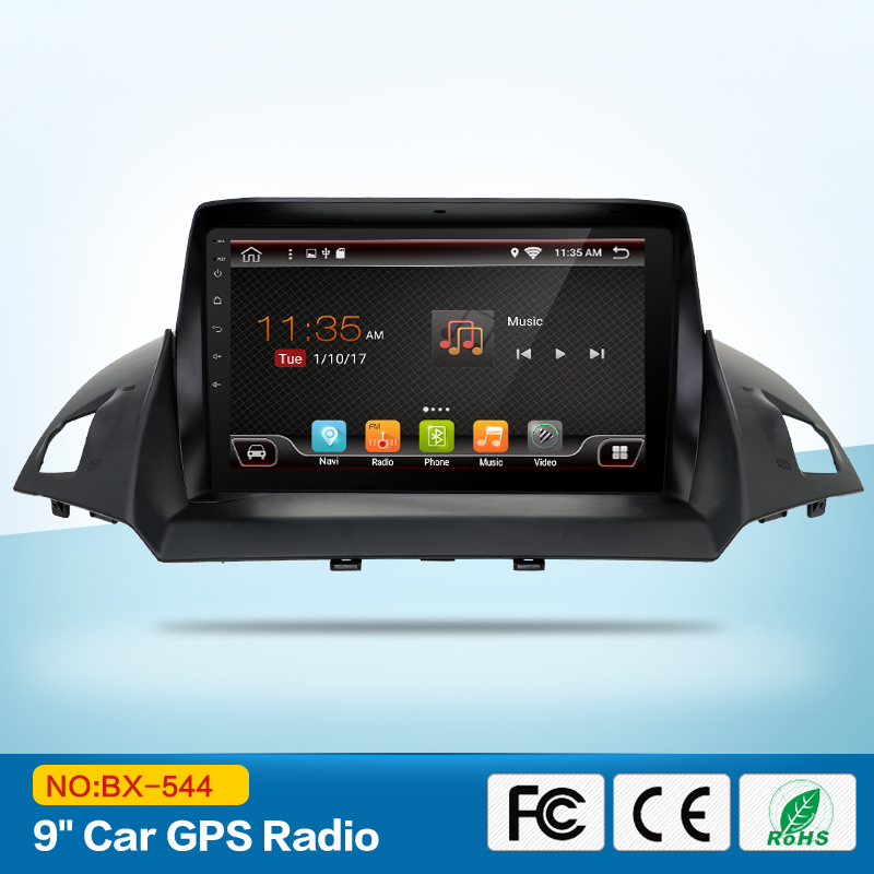 Quad Core Android 6.0 car audio FOR FORD KUGA 2013 car dvd player head device car multimedia car stereo with wifi mirror link