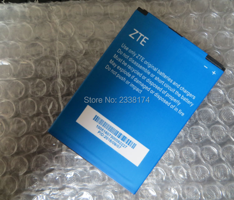 1pcs 100% High Quality LI3820T43P3H785440 2000mAh Battery For ZTE Mobile phone Freeshipping + Tracking Code