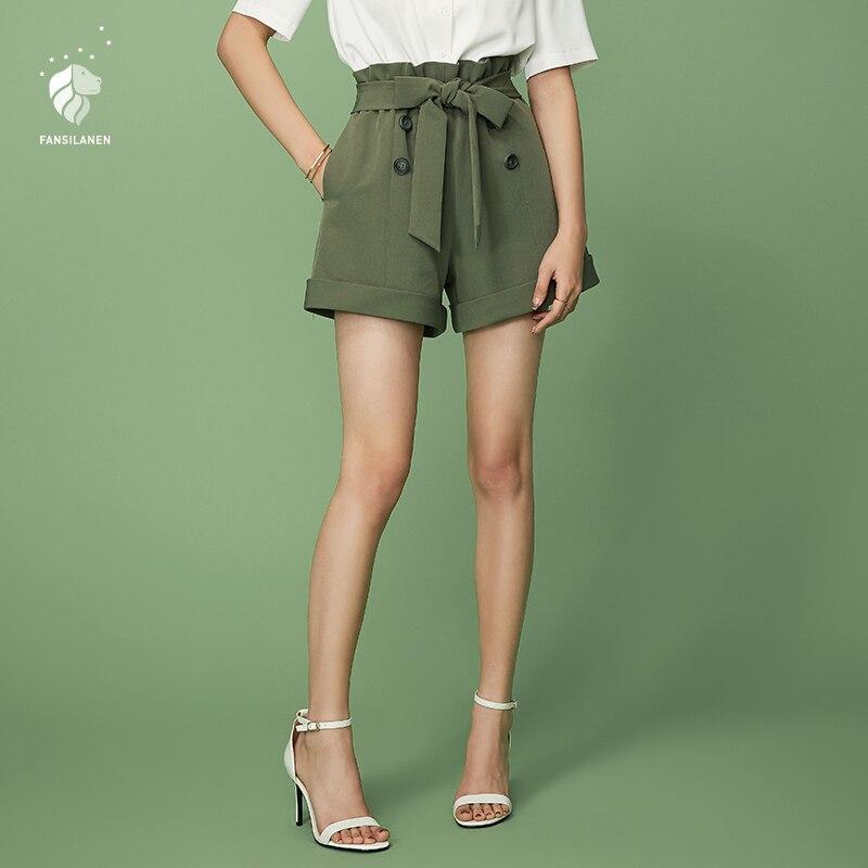 Womens Shorts Kirbyates Fashion Elastic High Waist Yoga Sport Sweatpants Shiny Metallic Hot Short Pants with Pockets
