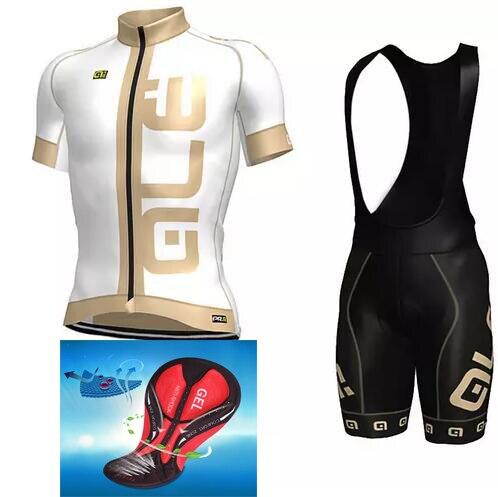 Prix pour NOUVEAU Tanhyo Équipe Ale Vélo Jersey Définit VTT Vélo Vélo Respirant shorts Vêtements Ropa Ciclismo Bicicleta Maillot Costume