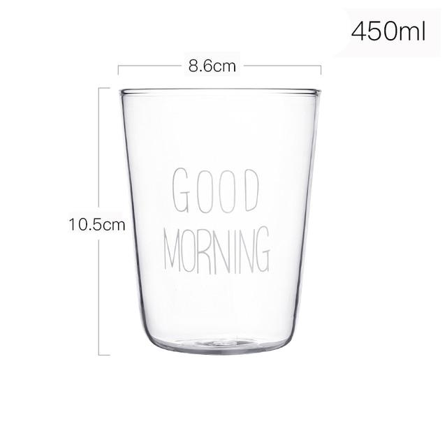 Lovely Glass Breakfast Cup Yogurt Mug