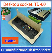 Brush box/Hidden socket/USB,VGA,HDMI,network,video desktop