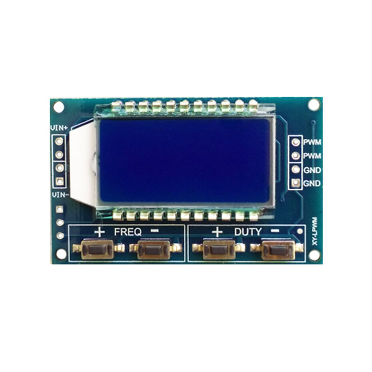 New Signal Generator Pwm Pulse Frequency Duty Cycle Adjustable Generating Circuit Module Lcd Display 1hz 150khz 33v 30v Board In Integrated Circuits From