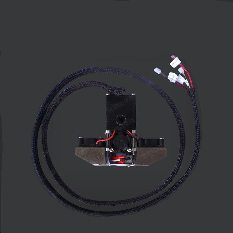 Imprimante 3D kit dextrusion à extrémité chaude amélioré tête dextrusion complète pour filament Ultimaker2 + 1.75mm