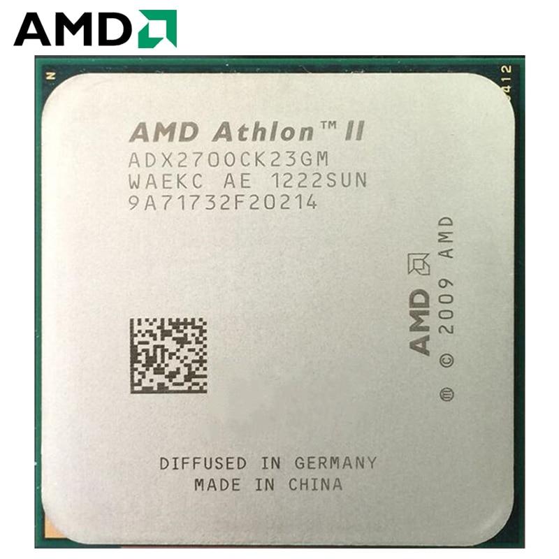 AMD Athlon II X2 270 CPU Processor 65W 3.4GHz 938-pin Dual-Core CPU Desktop Processor X2 270 Socket processador AM3 AM2+ 1