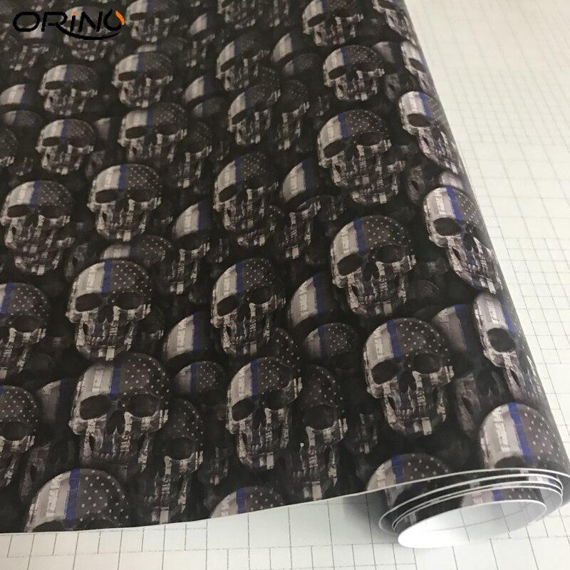 Skull Sticker Vinyl Wrap-5