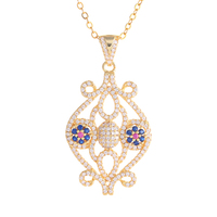 Vintage Fashion Necklaces For Women 2017 Statement Ladies Designer Rhinestone Necklace Pendants Custom Jewelry Mothers Day