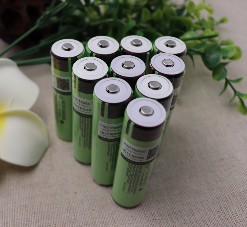 100% New secure Original NCR18650B 3400mAh 18650 Rechargeable Battery with PCB 3.7v for Panasonic Flashlight batteries