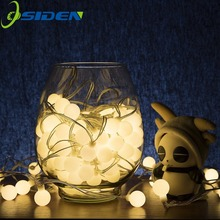 OSIDEN 20 M 200 LEDs 110 V 220 V Waterdichte IP65 Outdoor LED string Kerstverlichting Vakantie Bruiloft Decotation(China)