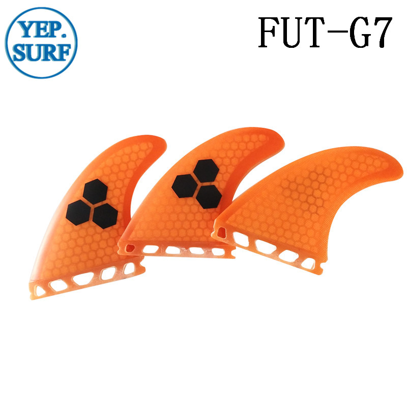 Surfing Paddling Ապագա Fins G7 նարնջագույն / - Ջրային մարզաձեւեր - Լուսանկար 2
