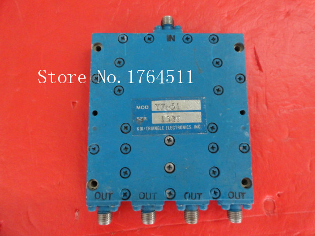 [BELLA] KDI YF-51 0.5-2GHz A Four Supply Divider SMA