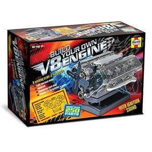 Image 4 - Spot V8 Motor Montage Modell Transparent Visuelle Runnable Geburtstag Geschenk Spielzeug
