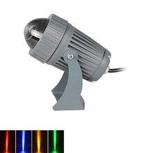 Светодиодный светильник для газона 3 Вт/10 Вт, настенный светильник, водонепроницаемый прожектор, узкий луч, точечный светильник, уличный ландшафтный светильник ing 100-240 В