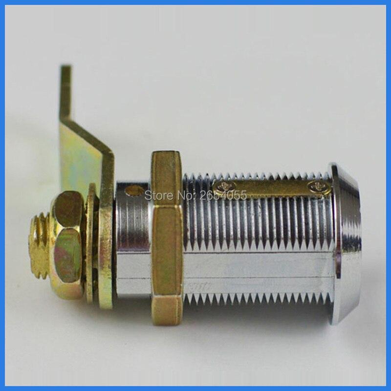 5 pcs 30mm anti-drilling quarter turned flat key cam lock toolbox door lock with same keys