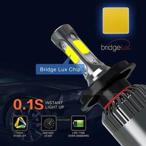 Image 3 - 2 шт., Автомобильные светодиодные лампы H1 H3 H4 H7 H8 H11 9005 9006 HB3 HB4 9012 H16 880 881 CSP COB