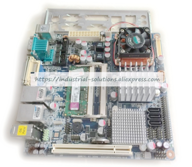 MINI-ITX Industrial Motherboard for EMX-965GME 08GSA965GM1304 working perfectly m945m2 945gm 479 motherboard 4com serial board cm1 2 g mini itx industrial motherboard 100
