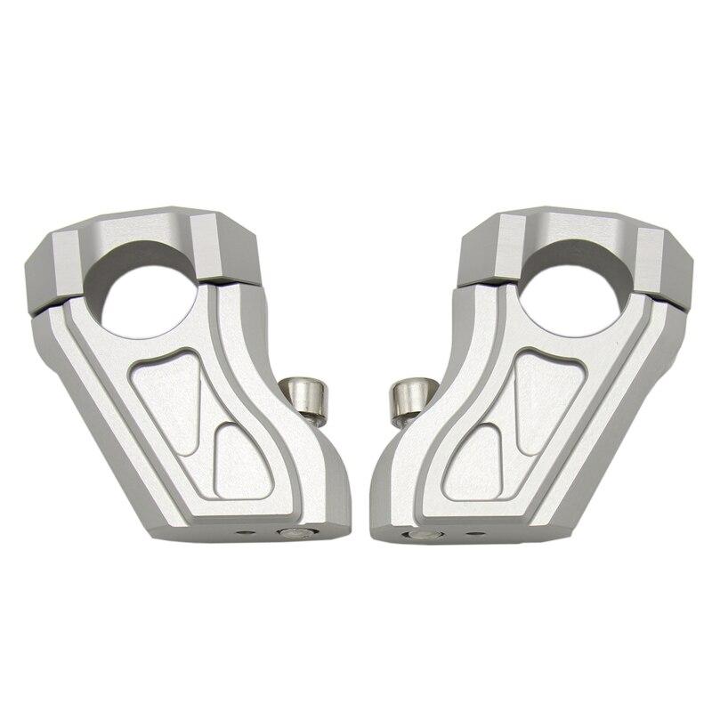 Guidon Risers barre pince étendre adaptateur avec boulons pour BMW R NINE T R9T 2013 2015 16 17 18 Bar Risers 28mm