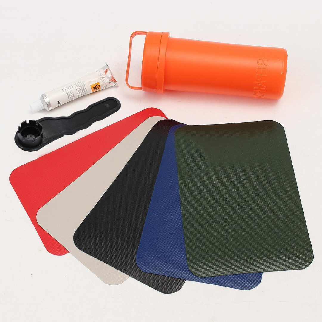 Inflatable Boat Swimming Pool PVC Puncture Repair Patch Glue Kit Adhesive Canoe Kayak Rowing Boats Parts Accessories in Rowing Boats from Sports Entertainment