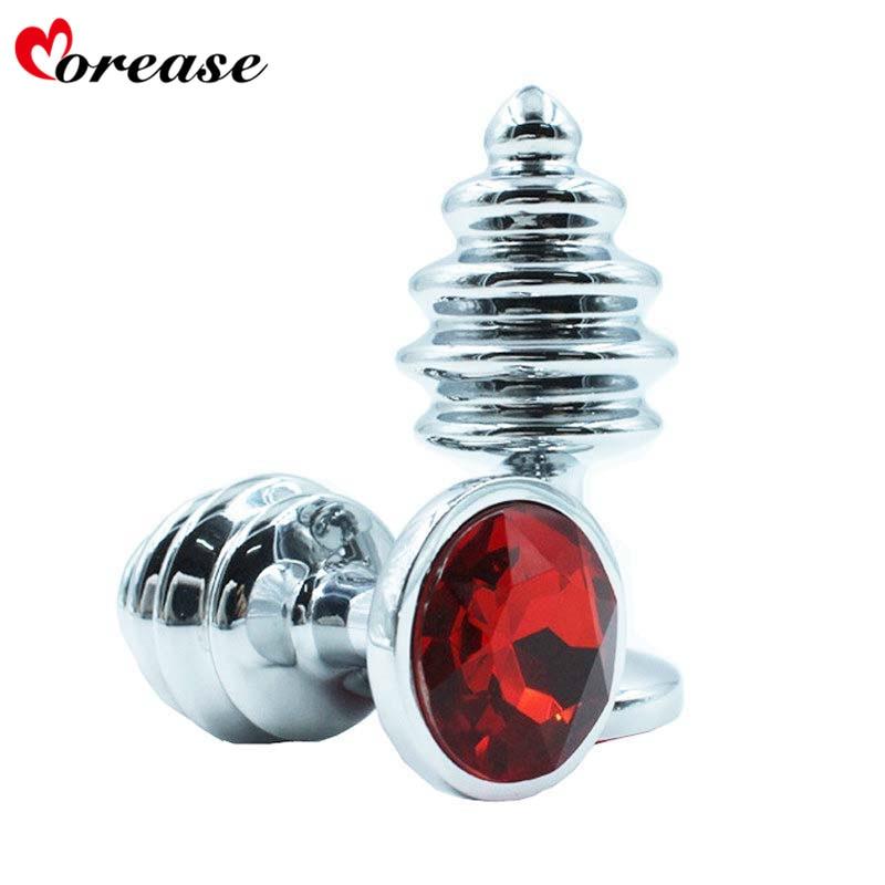 Aliexpresscom  Buy Morease Metal Anal Plug Butt Plugs -8459