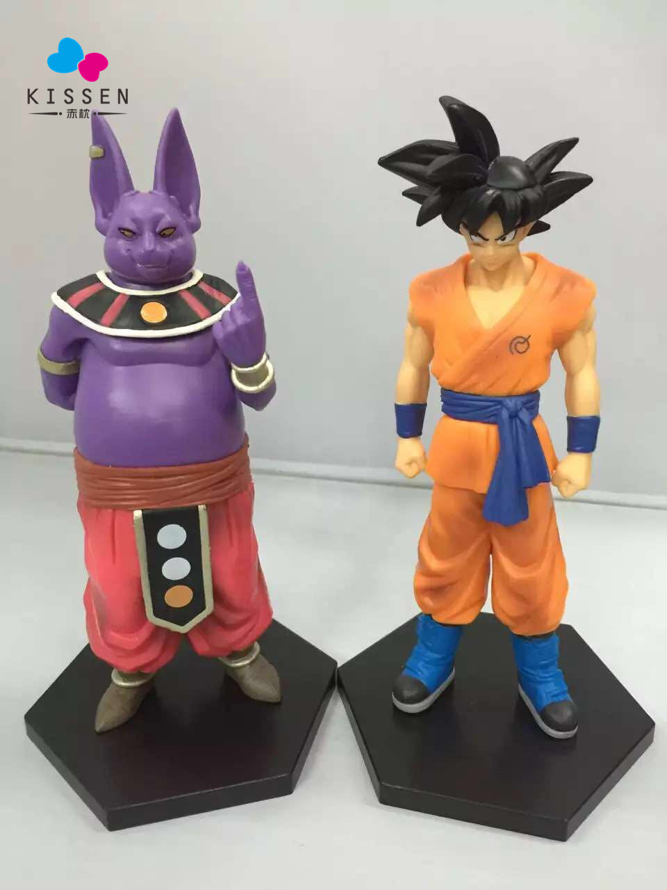Kissen Set of 2 Dragonball Super God Goku and Champa Collection vol.3 Anime PVC Action Figure Collection Model Kids Toy Doll james robinson superman nightwing and flamebird vol 2