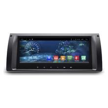 8.8″ Android 4.4 1280X480 Quad Core Car Stereo Audio Head Unit Autoradio Headunit for BMW 5 Series X5 E39 E53 M5 7 Series E38