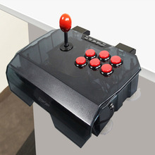 ViGRANfree shipping 1pcs QANBA N1 arcade joystick USB cable arcade game for PS3/PC/PC360/Android smart TV KOF transparent shell