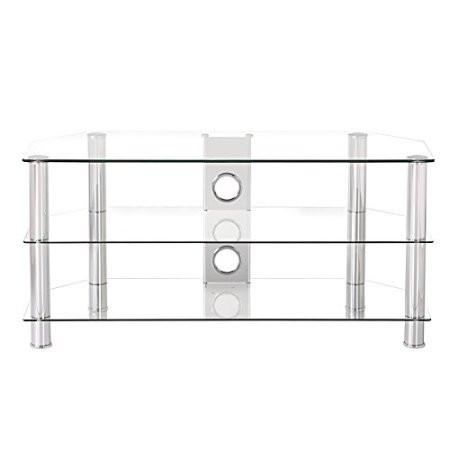 Aliexpress Com Buy Fitueyes Curved Silver Corner Tv Stand For Up