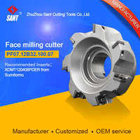 Mached insert SOMT12T308PEER Indexable milling cutter milling tools facing cutter cutting PF06.12B32.100.07