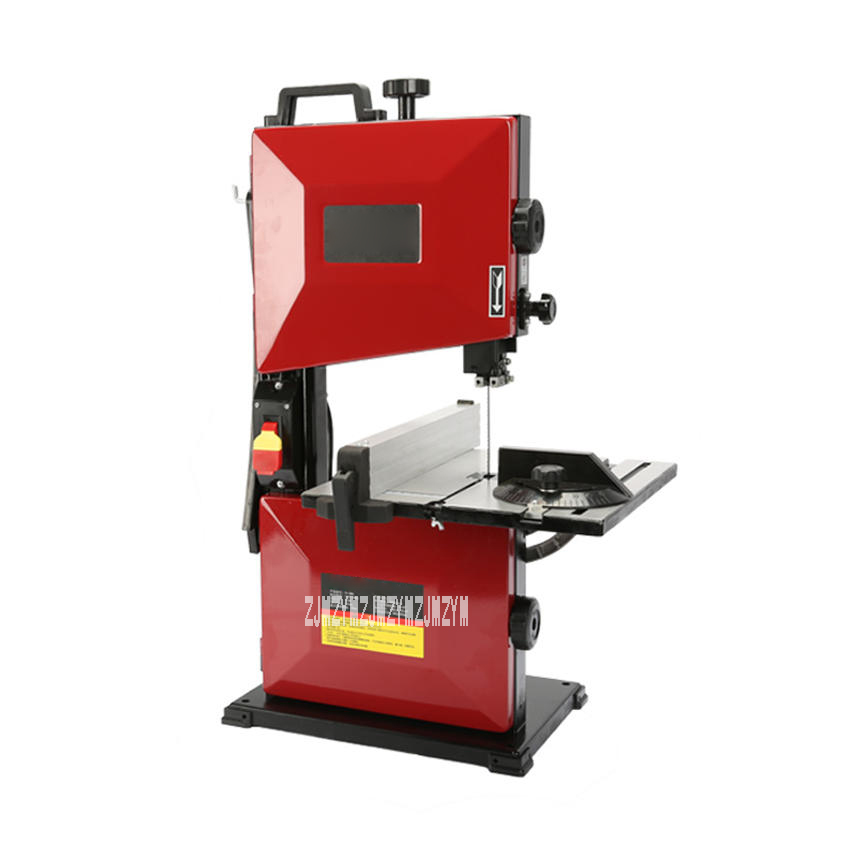 FS D80 Multi Functional Band Sawing Machine Electric Jig Saw DIY Hobby Model Crafts Cutting Saw Table Woodworking Saw Machine