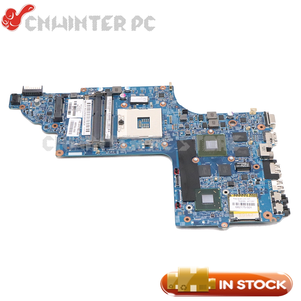 NOKOTION For HP Pavilion DV6-7000 Laptop Motherboard HM77 GT650M 2GB 682172-001 682175-501 682174-001 682175-001 48.4ST06.011NOKOTION For HP Pavilion DV6-7000 Laptop Motherboard HM77 GT650M 2GB 682172-001 682175-501 682174-001 682175-001 48.4ST06.011