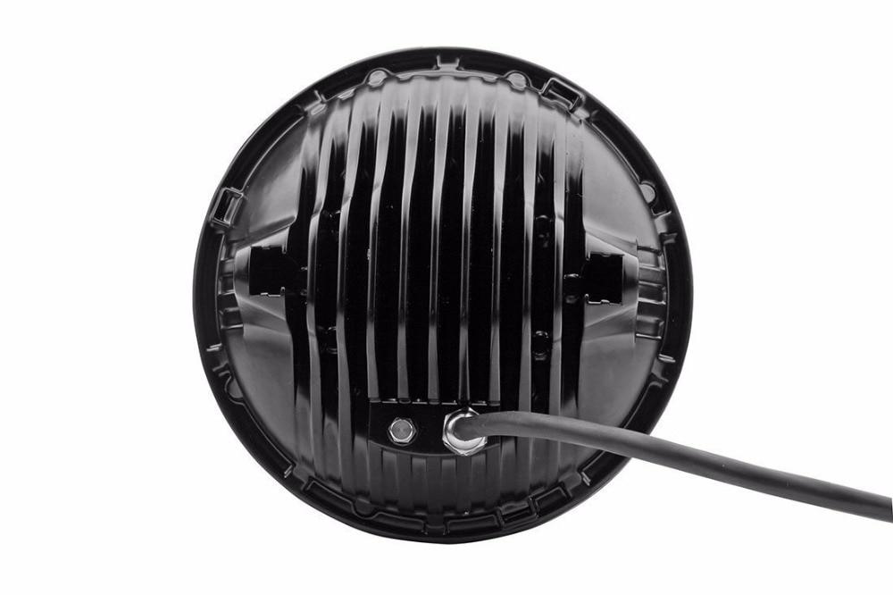 Təqdimat! Jeep Wrangler üçün 7V düym 75W yüksək aşağı şüa - Avtomobil işıqları - Fotoqrafiya 4