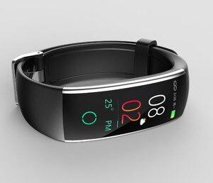 Image 4 - Nova Pulseira Pulseira Inteligente com Pedômetro Freqüência Cardíaca Pressão Arterial multifunções banda inteligente para Android IOS Fitnesstracker